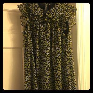Forever 21 polka dot mod dress - Size M